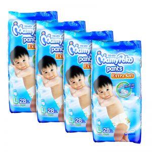 MamyPoko Extra Soft Pants (Boys) Large 28S