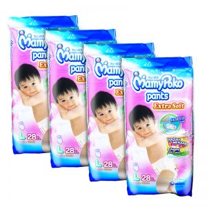 MamyPoko Extra Soft Pants (Girls) Large 28S