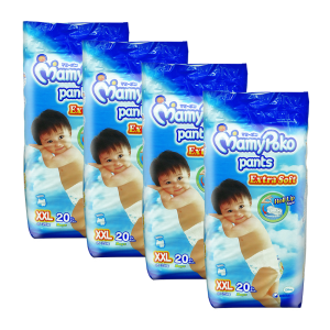 MamyPoko Extra Soft Pants (Boys) XX-Large 20S (1Carton=4pack)