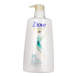 Dove Hair Shampoo 680ml Daily Shine