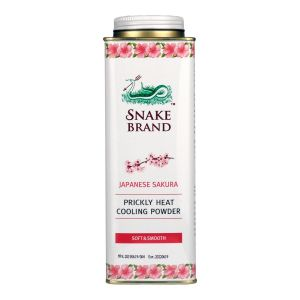 St. Luke Snake Brand Prickly Heat Cooling Powder 300g [Cool Pink]