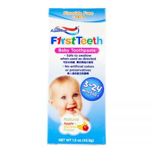Aquafresh First Teeth Baby Toothpaste 1.5oz