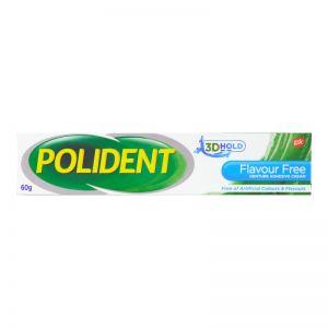 Polident Denture Adhesive Cream 60g Flavour Free