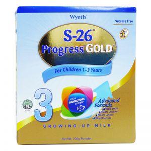-26 Stage 3 Progress Gold Milk Powder 700g Refill (1-3Yrs)