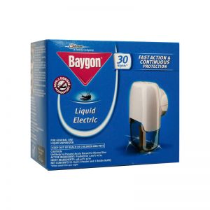 Baygon Liquid Electric Repeller (Heater+Refill 21.9ml)