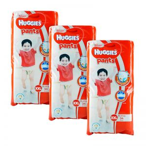 Huggies Silver Pants XX-Large 34S x3packs