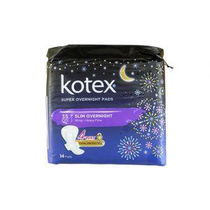 Kotex Super Slim Overnight Wing Heavy Flow 35cm 14S