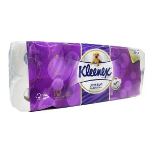 Kleenex Toilet Tissue Clean Care 3ply 2000sheets x10rolls