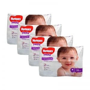 Huggies Platinum Pants Medium 33s (1Carton=4pack)