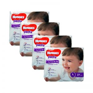Huggies Platinum Pants Large 27s (1Carton=4pack)