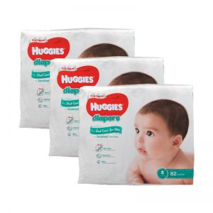 Huggies Platinum Diapers Small 82s (1Carton=3pack)