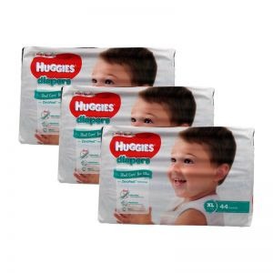 Huggies Platinum Diapers X-Large 44s (1Carton=3pack)