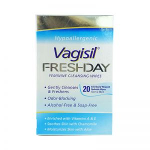 Vagisil Freshday Feminine Wipes 20s