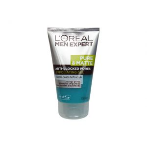 L'oreal Men Expert Pure&Matte Exfoliating Gel 100ml