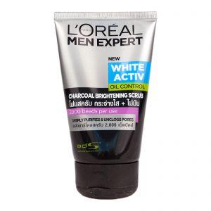 L'oreal Men Expert Pure & Matte Charcoal Black Scrub Deep Action 100ml