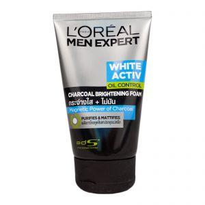 L'Oreal Men Foam 100ml White Active Charcoal
