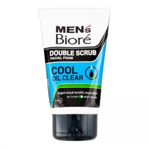 Biore Men Facial Foam Cool Oil Clear 100g