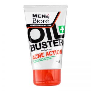 Biore Men Facial Foam Acne Action 100g