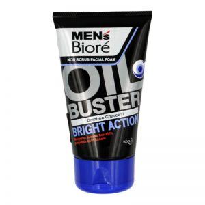 Biore Men Facial Foam 100g Oil Buster