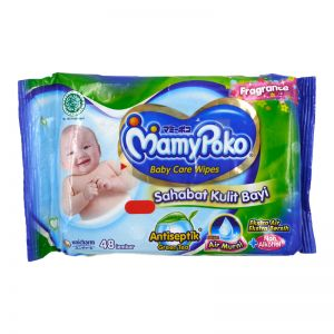 Mamypoko Baby Care Wipes 48s Green Tea Fragrance