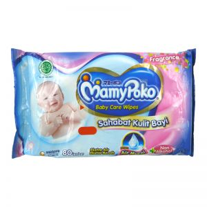 Mamypoko Baby Care Wipes 80s Regular Fragrance