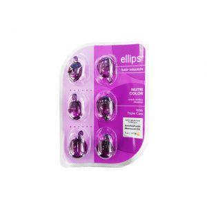 Ellips Hair Vitamin 6s Hair Nutri Color
