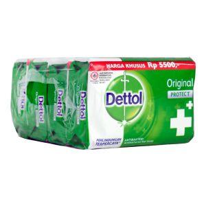 Dettol Anti-Bacterial Bar Soap (105gx4) Original