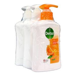 Dettol Hand Soap 245gx2 Sensitive + 1 Re-Energize