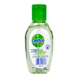 Dettol Instant Hand Sanitizer 50ml Refresh with Aloe Vera