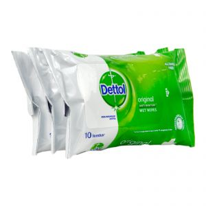 Dettol Antiseptic Wet Wipes 3x10S