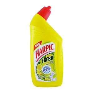 Harpic Toilet Cleaner Fresh Citrus Yellow 450ml