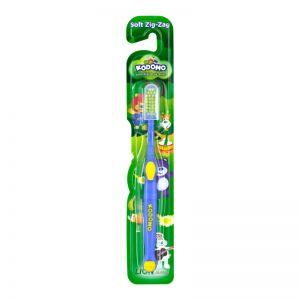 Kodomo Kids Toothbrush Soft Zig-Zag (Assorted Colors)