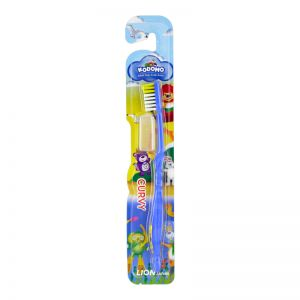 Kodomo Kids Toothbrush Curvy 1s (Assorted Colors)