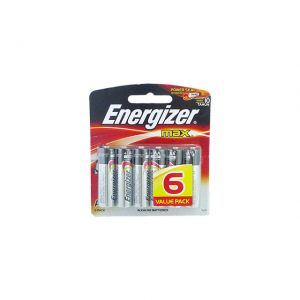 Energizer Battery Max AA 6 Batteries