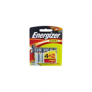 Energizer Battery Max AAA 6 Batteries