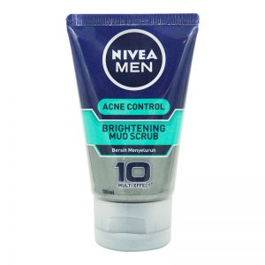 Nivea Men Acne Control Brightening Mud Scrub 100ml