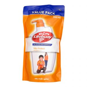 Lifebuoy Bodywash Refill 850ml Vita Protect