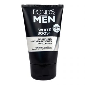 Pond's Men White Boost Face Scrub 100g