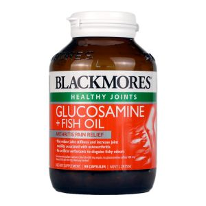 BlackMores Glucosamine + Fish Oil 90 Tablets
