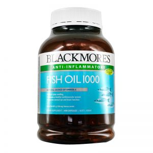 BlackMores Fish Oil 1000mg (400 Capsules)