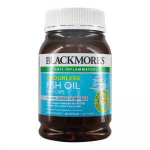 BlackMores Odourless Fish Oil Mini (400 Capsules)