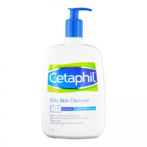 Cetaphil Oily Skin Cleanser 1L For Oily or Combination Skin