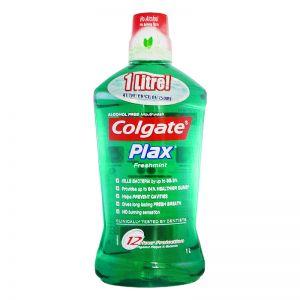 Colgate Plax Mouthwash 1L Freshmint
