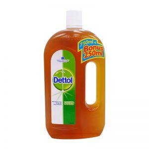 Dettol Antiseptic Germicide Liquid 750ml+250ml