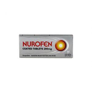 Nurofen Coated Tablets 12x200mg