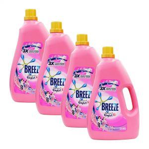Breeze Liquid Detergent 3.6kg Fragrance of Comfort (1Carton=4Bottle)