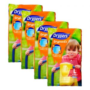 Drypers Drypantz Large 36S (1Carton=4Pack)