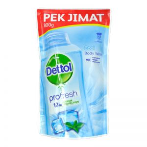 Dettol Profresh Shower Gel Refill 800g Cool