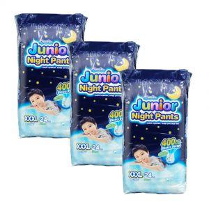 MamyPoko Junior Night Pants (Boys) XXX-Large 24S (1Carton=3pack)