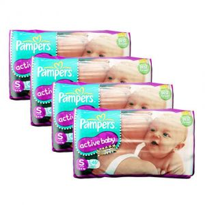 Pampers Active Baby Diapers Small 46S (1Carton=4pack)